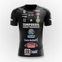Camisa Dracena Futsal Oficial 2019 - Preta