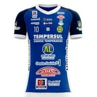 Camisa Dracena Futsal Oficial 2019 - Azul