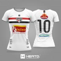 Camisa Oficial Tupã 2020 Heatd Feminina - Branca